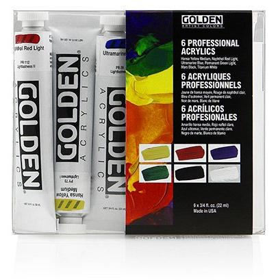 Golden HB INTRODUCTORY SET 6X22 ML