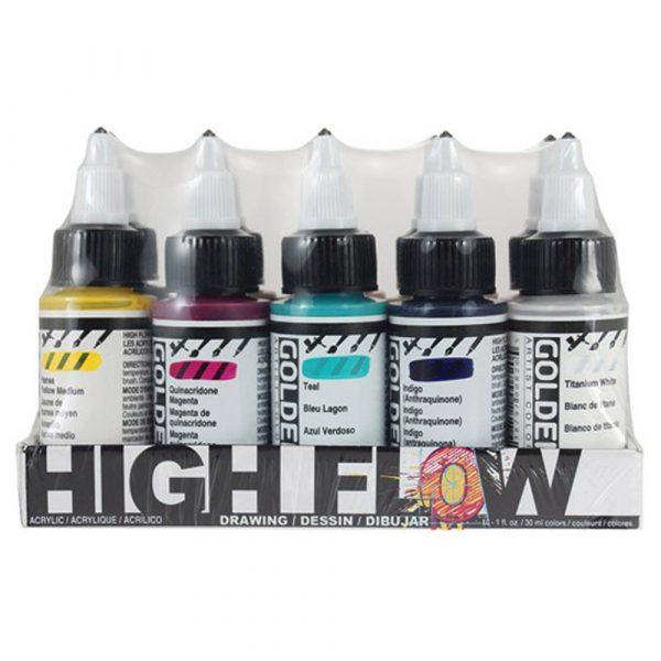 Golden High Flow Drawing Set