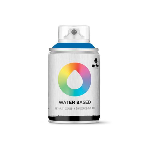 MTN Spain Water Based Spray Paints 100ML - Prussian Blue