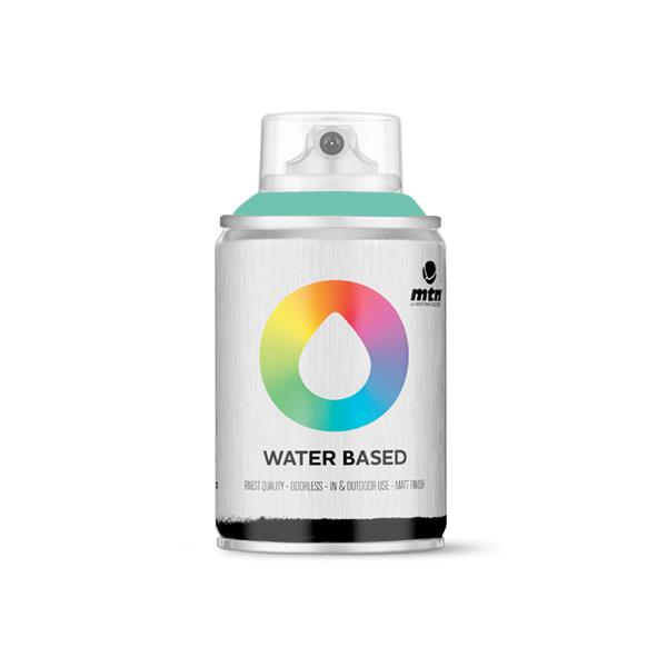 MTN Spain Water Based Spray Paints 100ML - Turquoise Green