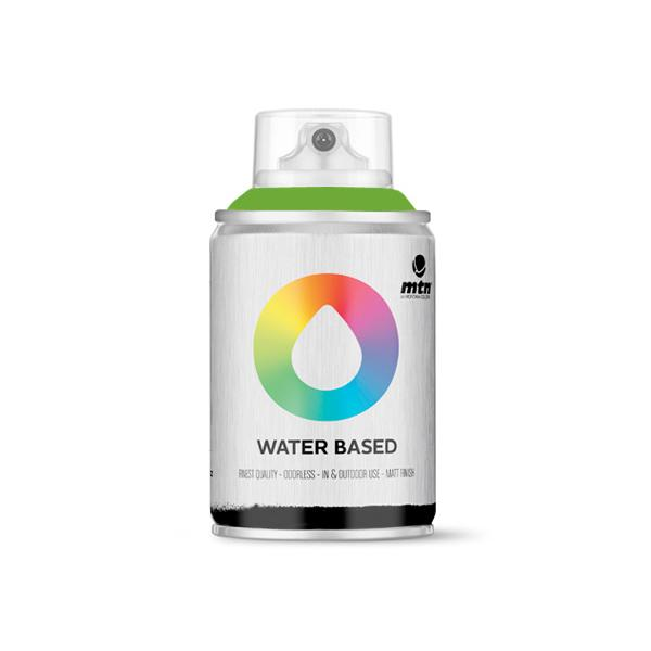 MTN Spain Water Based Spray Paints 100ML - Brilliant Green