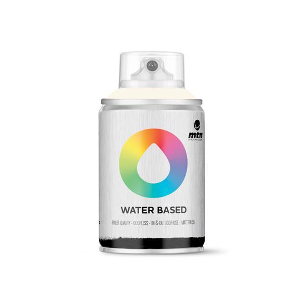 MTN Spain Water Based Spray Paints 100ML - Titanium White