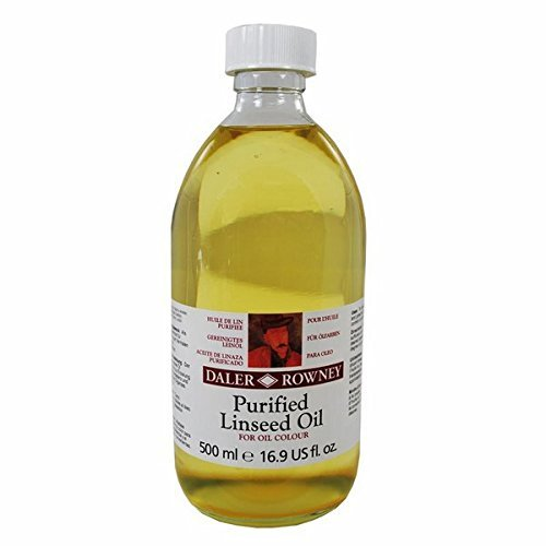 Daler-Rowney Purified Linseed Oil 500 ML