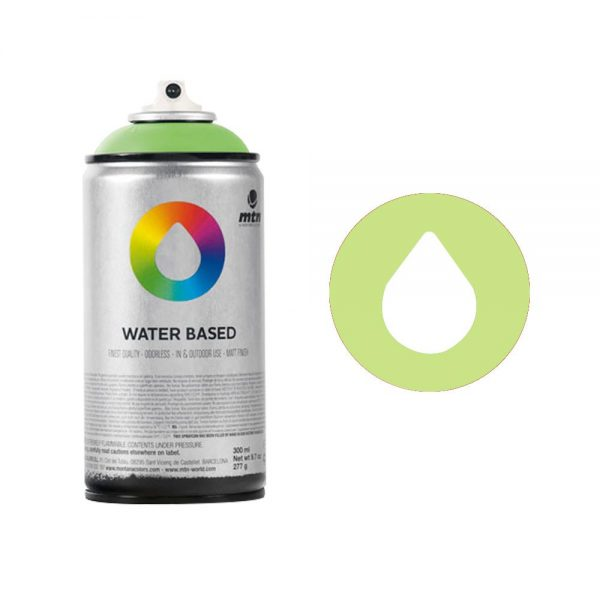 MTN Spain Water Based Spray Paints 300ML - Brilliant Light Green