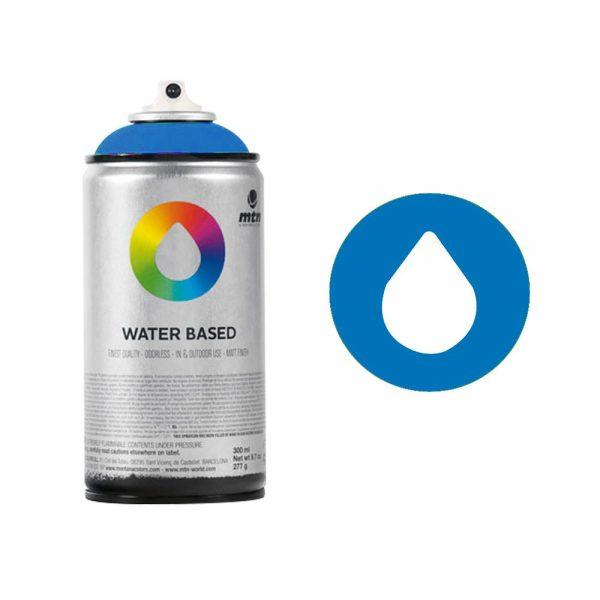 MTN Spain Water Based Spray Paints 300ML - Cobalt Blue