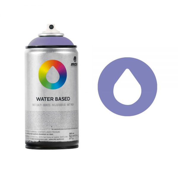 MTN Spain Water Based Spray Paints 300ML - Dioxazine Purple