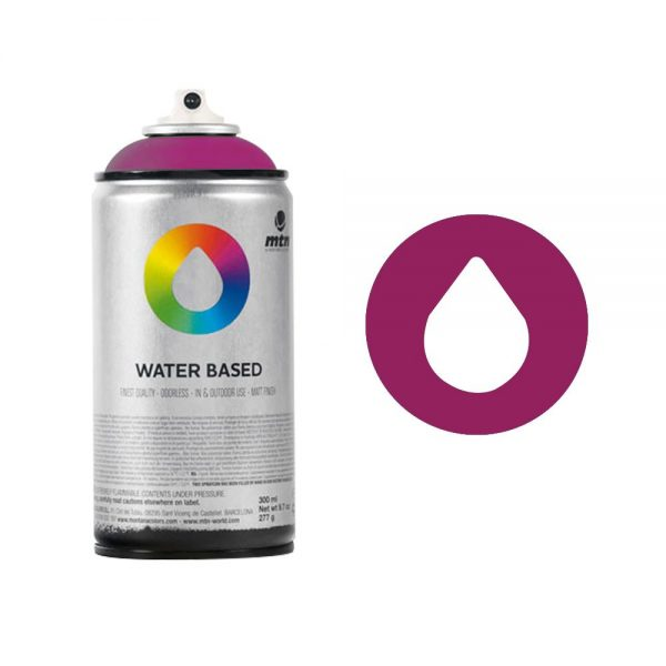 MTN Spain Water Based Spray Paints 300ML - Red Violet