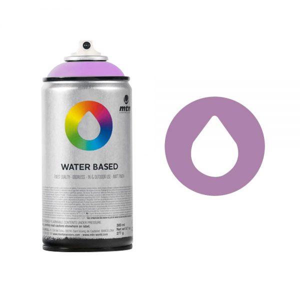 MTN Spain Water Based Spray Paints 300ML - Blue Violet Light