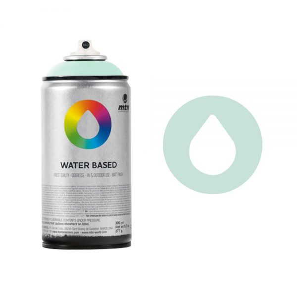 MTN Spain Water Based Spray Paints 300ML - Turquoise Green