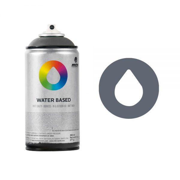 MTN Spain Water Based Spray Paints 300ML - Neutral Grey Deep