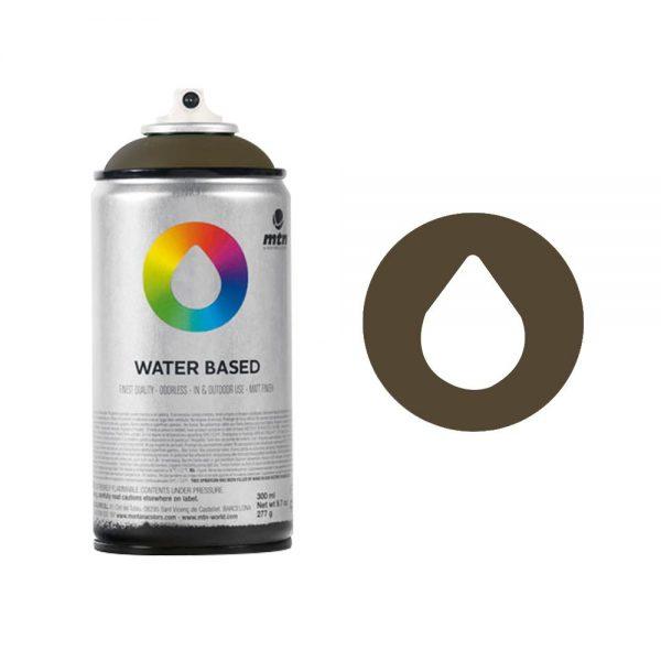 MTN Spain Water Based Spray Paints 300ML - Burnt Umber