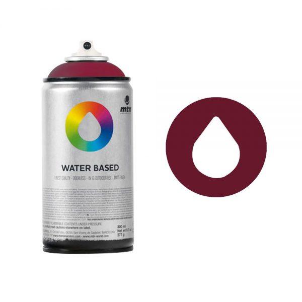MTN Spain Water Based Spray Paints 300ML - Carmine