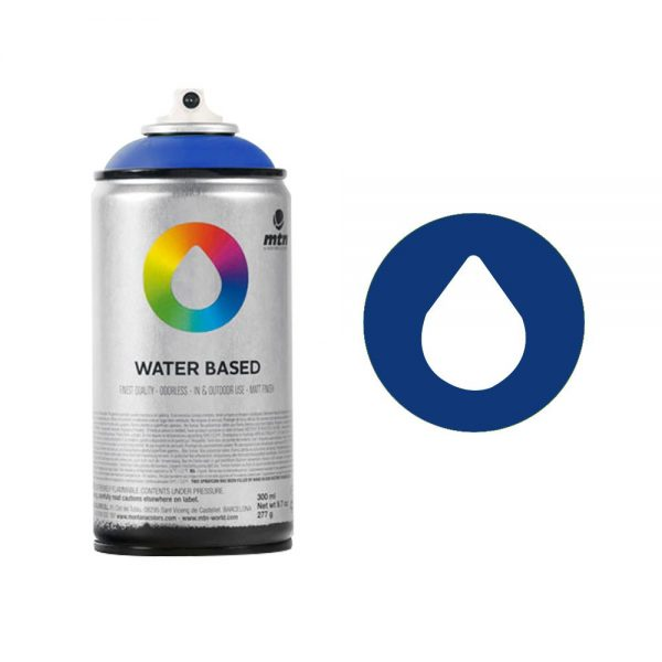 MTN Spain Water Based Spray Paints 300ML - Ultramarine Blue