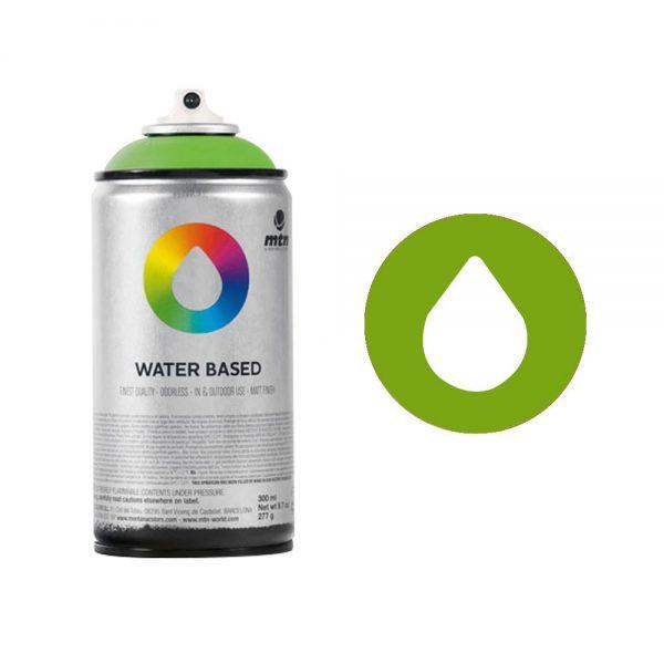 MTN Spain Water Based Spray Paints 300ML - Brilliant Green