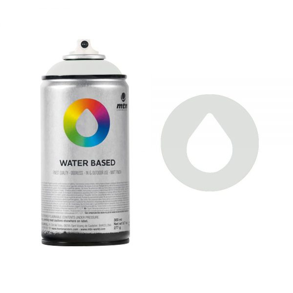 MTN Spain Water Based Spray Paints 300ML - Neutral Grey Light