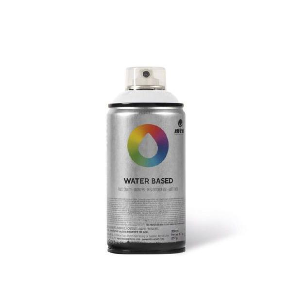 MTN Spain Water Based Spray Paints 300ML - Titanium White