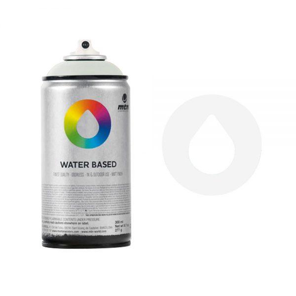 MTN Spain Water Based Spray Paints 300ML - Semitransparent White