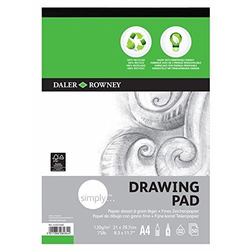 Daler-Rowney Simply A4 Eco Drawing Pad