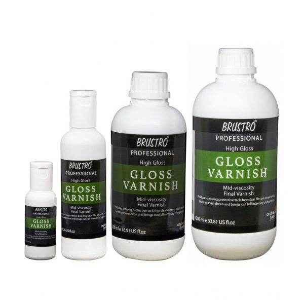 Brustro Professional High Gloss Varnish (OPEN STOCK)