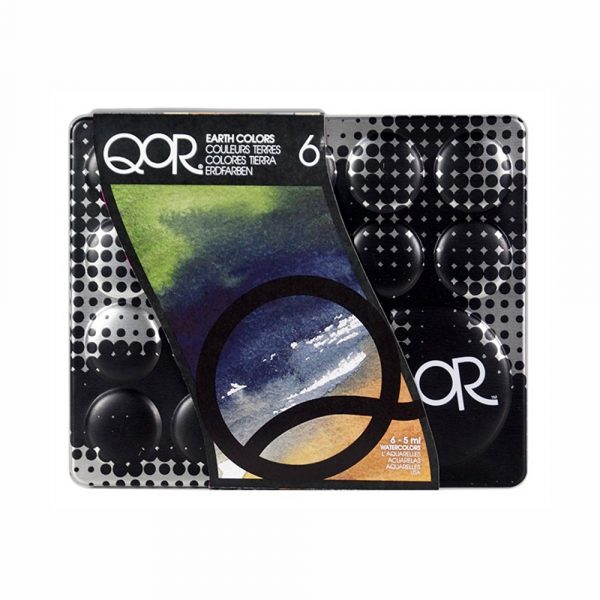 QoR 6 Earth Color Set of 5ml Tubes