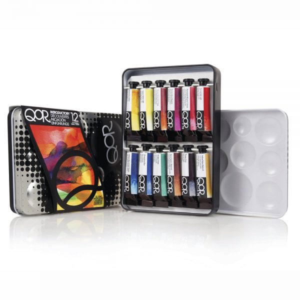QoR Introductory 12 Color Set of 5ml Tubes