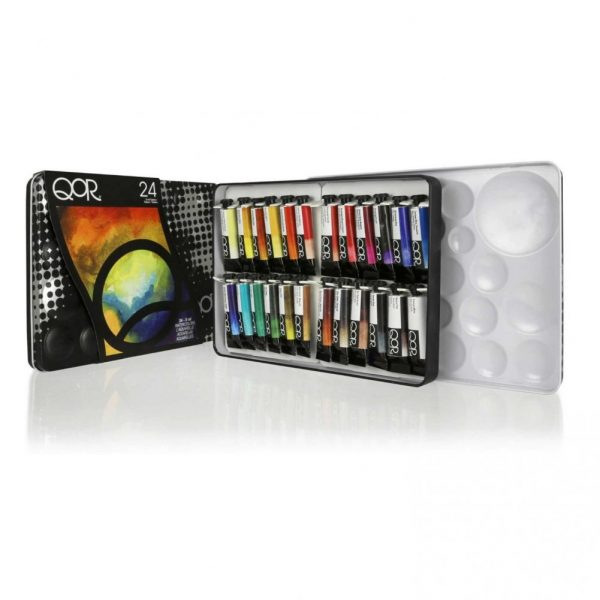 Qor Introductory 24 Color Set 5 ML Tubes