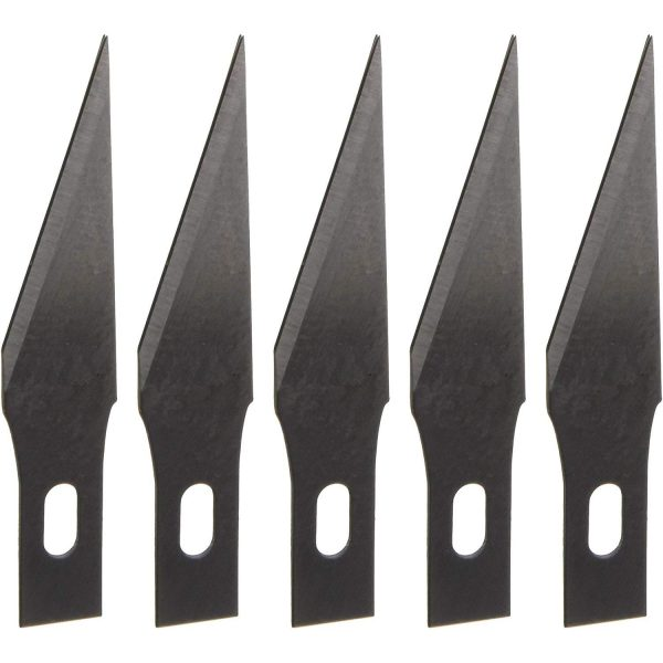 Derwent Replacement Craft Knife Blades, Set of 5, Professional Quality,