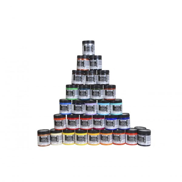 Brustro Professional Artists Heavybody Acrylic Paint 237ml (OPEN STOCK)