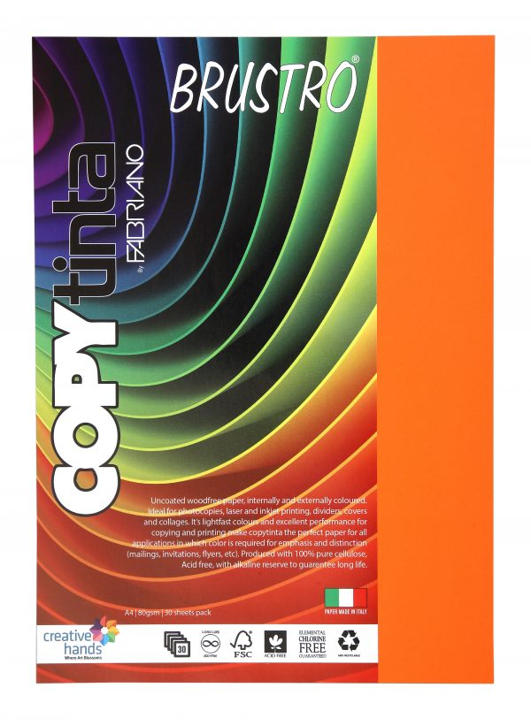 Fabriano Copy Tinta A4 Aragosta (Pack of 2)