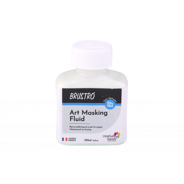 Brustro Professional Art Masking Fluid 100ml (75ml + 25ml Free)
