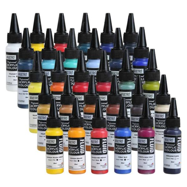 Brustro Professional Artists Fluid Acrylic 20 ml (OPEN STOCK)