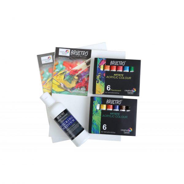 Brustro Fluid Art Kit