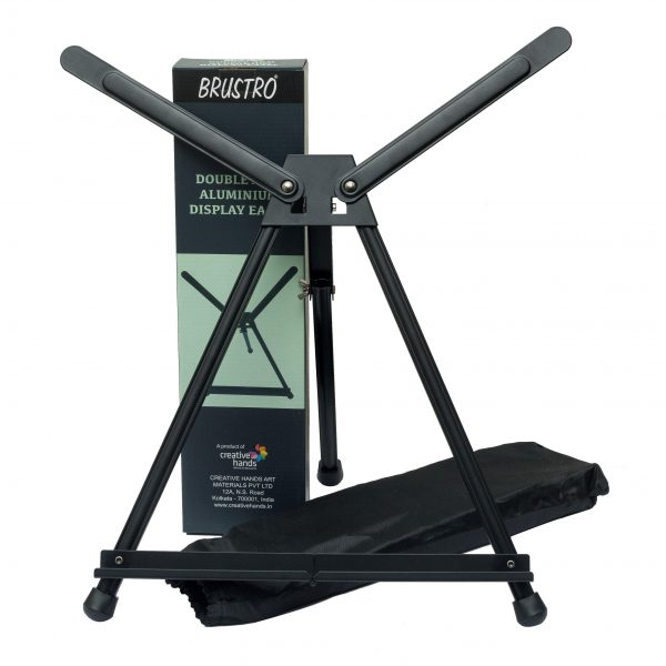 Brustro Aluminum Tabletop Double Arm Easel