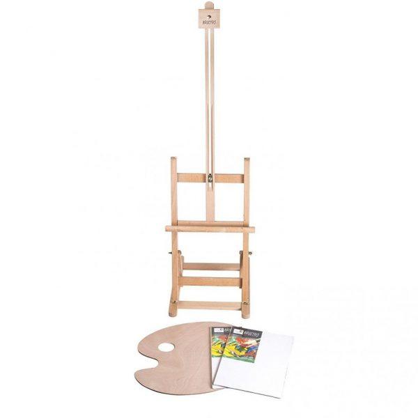 """Brustro Artists' Tabletop H-Frame Wooden Easel 30"""""""
