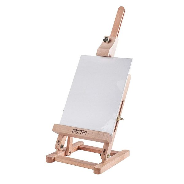 Brustro Artists' Tabletop Mini Wooden Easel 17