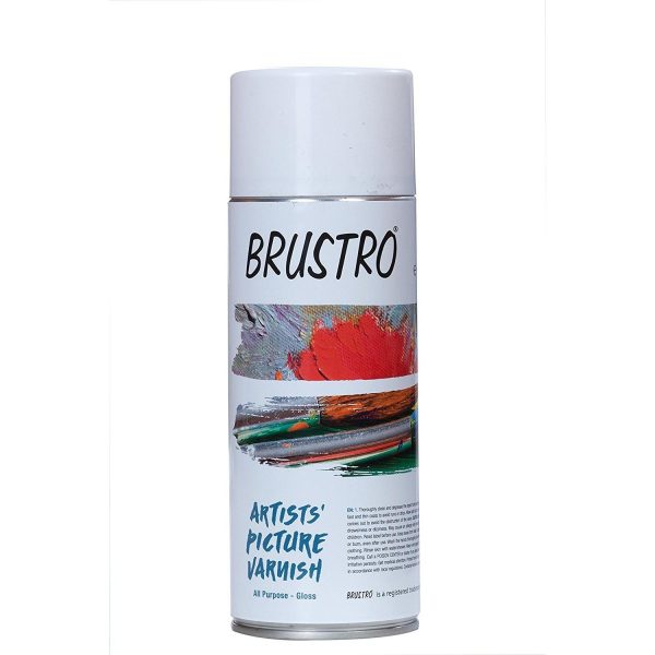 Brustro Fixative And Varnish -Made In Spain (OPEN STOCK)