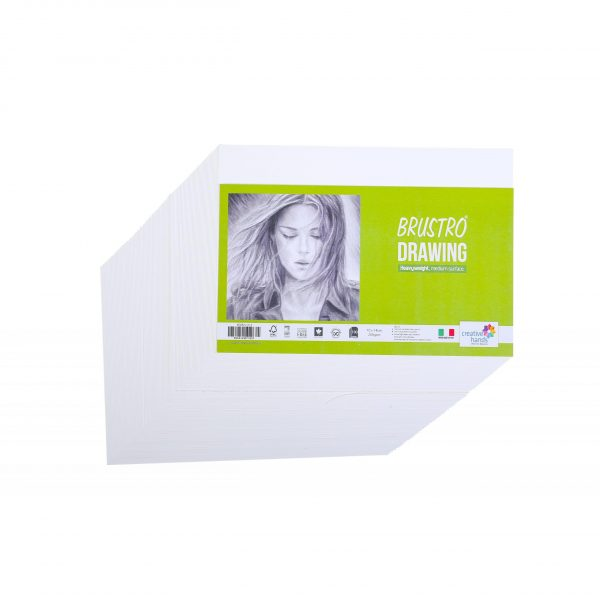 Brustro Drawing Papers Packs 200 GSM (OPEN STOCK)