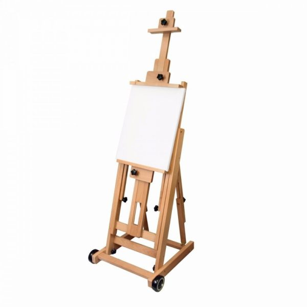 Brustro Artists' Master Multi-Function Studio Artist Wood Floor Easel.