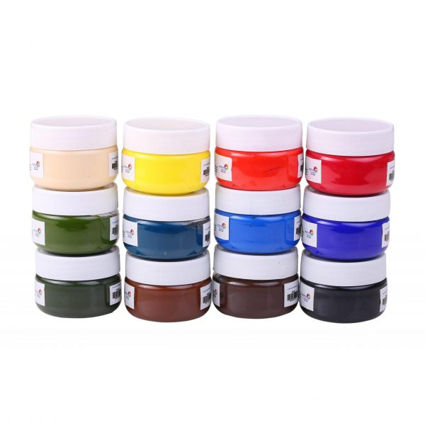 Professional Artists' HEAVYBODY Acrylic Paint Packs - 50ML Pack of 12 A