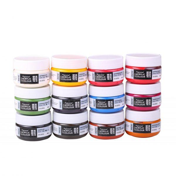 Brustro Professional Artists Heavybody Acrylic Paint 50ml (OPEN STOCK)