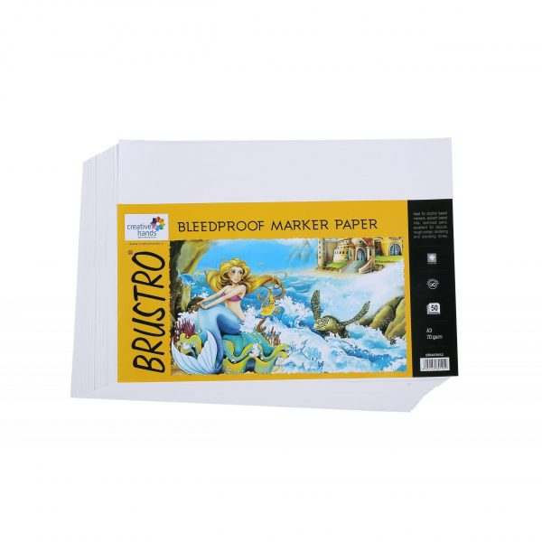 Brustro Bleedproof Marker Papers 70 GSM A3