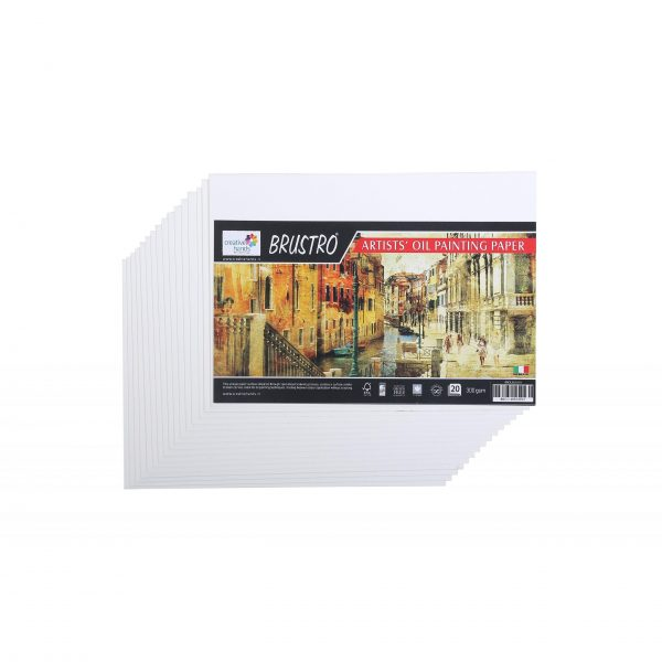 Brustro Artists' Oil Painting Paper 300 GSM (OPEN STOCK)