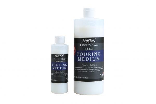 BRUSTRO Pouring Medium 1000 Ml (1 LTR.). Free BRUSTRO Pouring Medium 200 Ml (Worth Rs. 499)