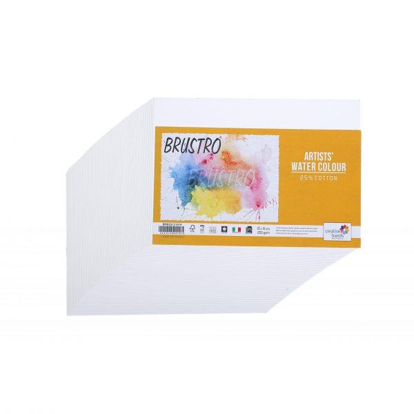 Brustro Artists' Watercolour Paper 200 GSM 25% Cotton (OPEN STOCK)