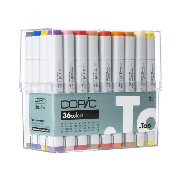 Copic 36 Color Markers Set (Color)