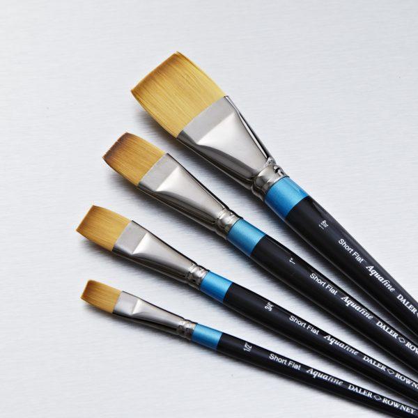 Daler-Rowney Aquafine Flat Watercolor Brushes (OPEN STOCK)