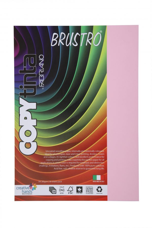 Fabriano Copy Tinta A4 Rosa (Pack of 2)