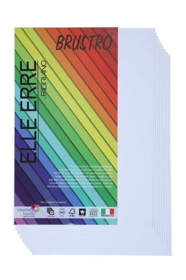 Fabriano Elle Erre A4 Bianco (Pack of 2)