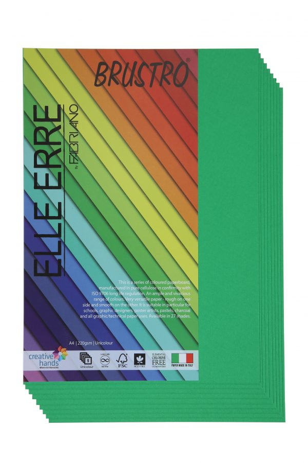 Fabriano Elle Erre A4 Verde (Pack of 2)