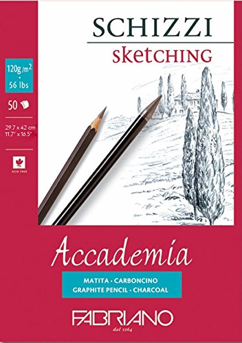 Fabriano Accademia Sketching Pad 120 GSM A3
